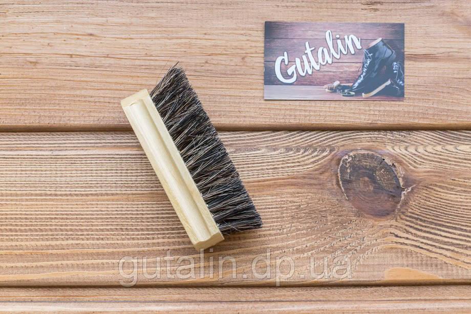 Щетка из натурального ворса art. 1 для полировки обуви