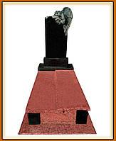 Одинарний пам'ятник з Ангелом