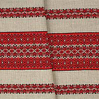 Декоративная ткань с украинским орнаментом ТД-23 (1/1)  от 1 м/пог