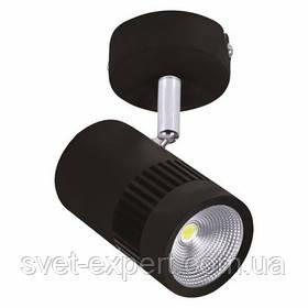 Світильник потолочний направляючий корпус метал COB LED 8W (білий,чорний) 4200K 500Lm 100-240V