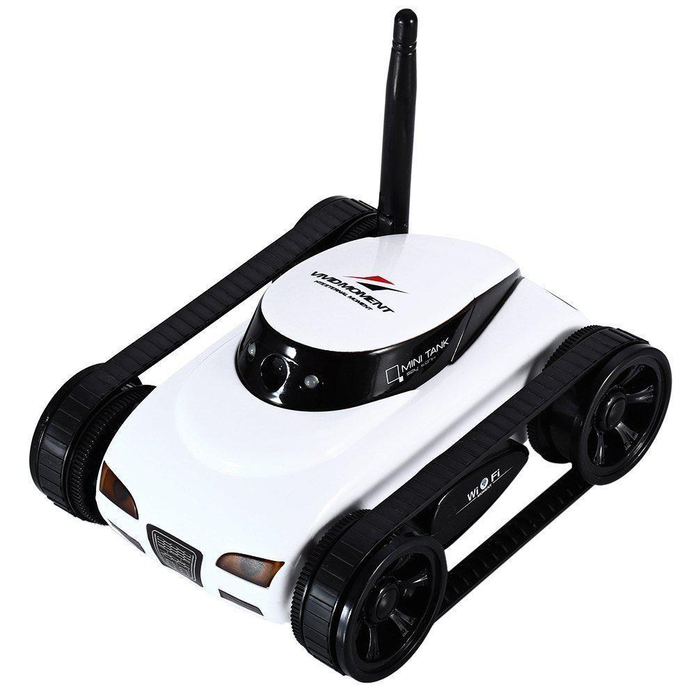 Танк-шпион Happy Cow I-Spy Mini - с видеокамерой и WiFi приемником (Happy Cow I-Spy Mini)