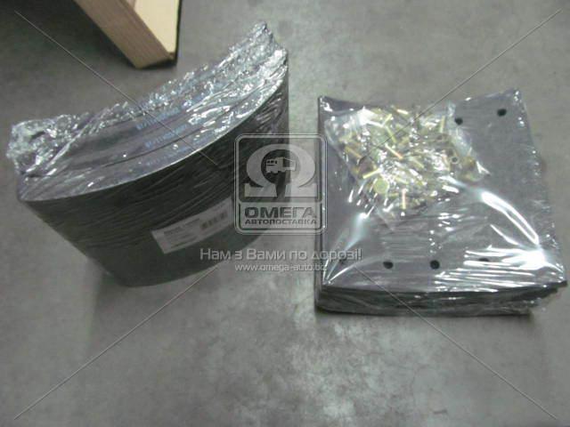 Накладка тормозная (компл. на ось) 420х200 1-й рем. BPW, DAF SB, SAF (RIDER)