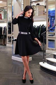 """Платье черное """"Moschino Stale"""""""