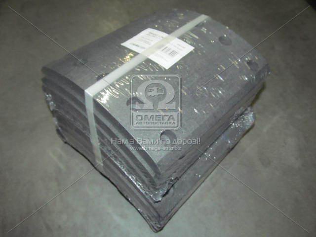 Накладка тормозная (компл. на ось) 420х200 2-й рем. BPW, DAF SB, SAF (RIDER)