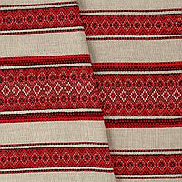 Декоративная ткань с украинским орнаментом ТД-50 (2/1)  от 1 м/пог