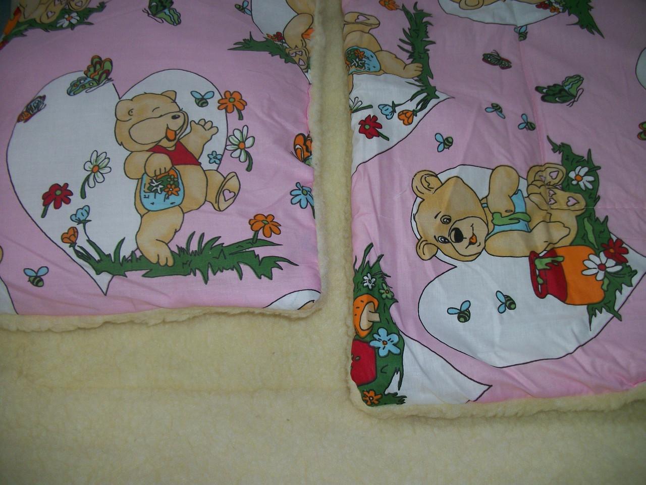 Одеяло и подушка ( набивная овчинка)