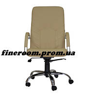 Кресло для руководителя MANAGER steel chrome comfort+anyfix SP-J
