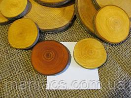 Срез дерева. Ольха 8 - 10 см
