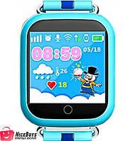 Детские GPS Часы Smart Baby Watch GW200S Q100s (Q750) blue