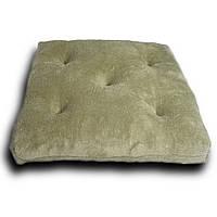 Подушка на стул Кедр на Ливане стеганная Bear серия Comfort 41x41x8 см Бежевая (1042)