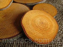 Срез дерева. Ольха 1,5 - 5 см