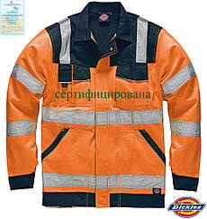 Куртка рабочая защитная предупреждающая Dickies США DK-INDUST-J PG