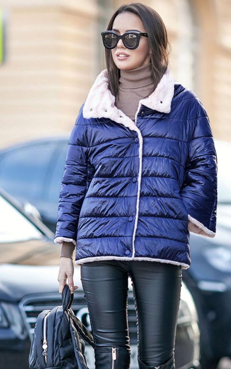 "Куртка двусторонняя с мехом ""Шерами"""