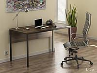 Стол в стиле лофт L-2P Loft Design Орех модена