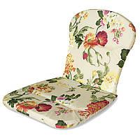 Матрас на кресло Кедр на Ливане Сан-Бич серия Simple flowers 79x41x3 см Бежевый (1001)