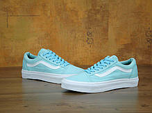 Мужские кеды Vans Old Skool Biscay Trainers Green True White, Ванс Олд Скул, фото 2