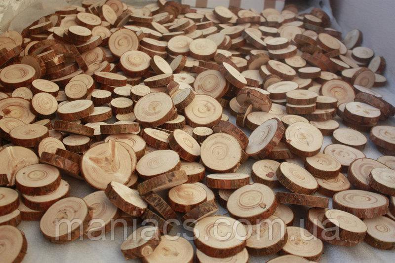 Зріз дерева. Вільха 11 - 15 см