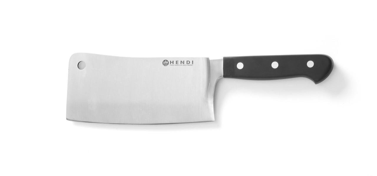 Нож кованый, секач Hendi 781302