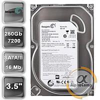 "Жесткий диск 3.5"" 250Gb Seagate ST250DM000 (16Mb/7200/SATAIII) БУ"