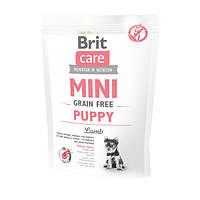 Brit Care GF Mini Puppy Lamb Корм для щенков малых пород с ягненком, 400 г