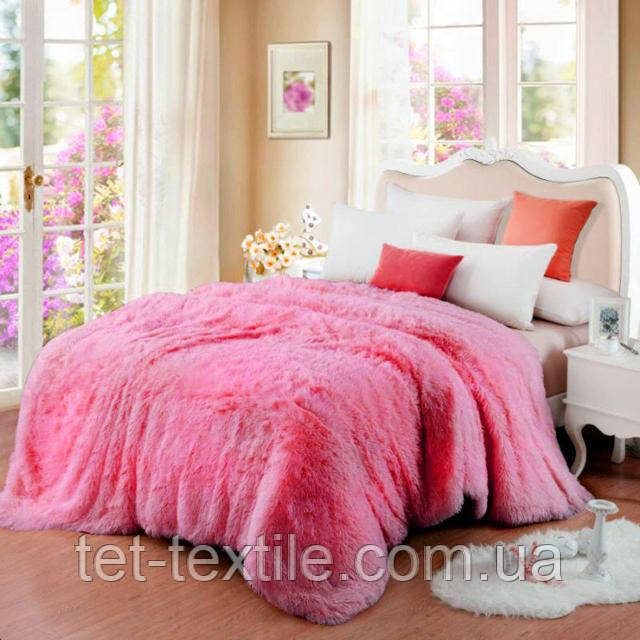 """Плед-покрывало """"Мишка"""" Розовый (160x210)"""