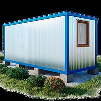 Бытовка - контейнер 6 х 2,4 купить | Жилые контейнеры бытовки - вагончики - Цена изготовителя