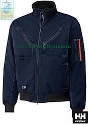 Куртка утепленная рабочая с рукавами на резинке синяя BERGHOLM PILOT (спецодежда утепленная) HH-BERGH-J G