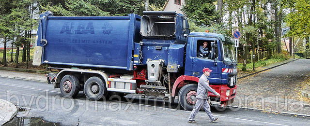 Современные мусоровозы оснащаются бортовой диагностикой