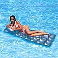 """Надувной пляжный матрас """"Стакан"""" с подголовником Intex 58894 (188х71см), фото 3"""
