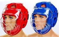 Шлем для тхэквондо с пластиковой маской Daedo 5490: 2 цвета, размер S-L, фото 1