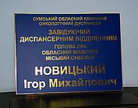 Табличка офисная, вывеска 30 х 40 см