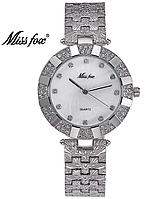 Женские наручные часы кварцевые Miss Fox silver (20625)