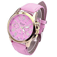 "Женские наручные часы ""GENEVA Style"" розовые (кварцевые)"