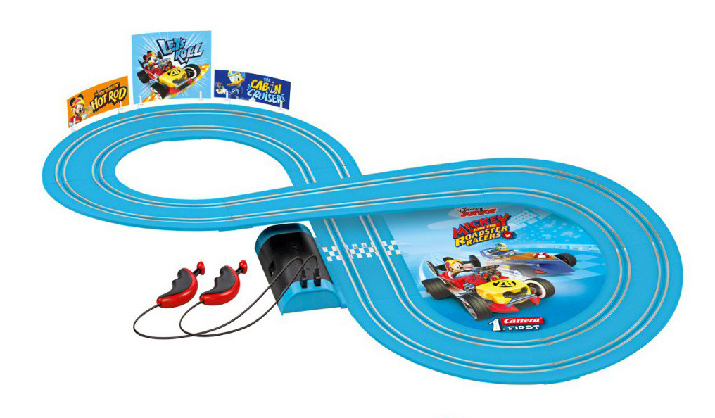 Лучшая гоночная трасса Carrera FIRST 63013 Mickey and the Roadster Racers