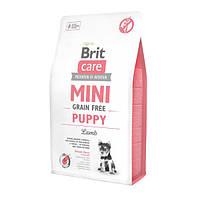 Brit Care GF Mini Puppy Lamb Корм для щенков малых пород с ягненком, 2 кг