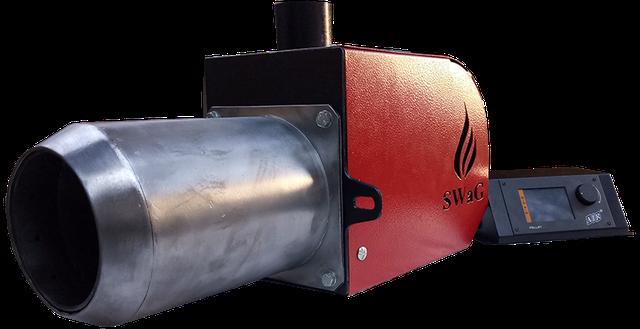Пелетні пальник факельного типу SWaG