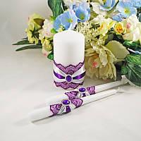 Набор свадебных свечей №37