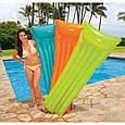 """Надувной пляжный матрас """"ОКЕАН ЦВЕТОВ"""" Intex 59703 (183х69см), фото 3"""
