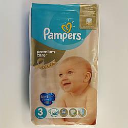 Подгузник Pampers premium care Newborn 3, 5-9 кг 60шт