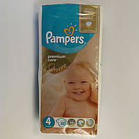 Подгузник Pampers premium care Newborn 4, 8-14 кг 52шт