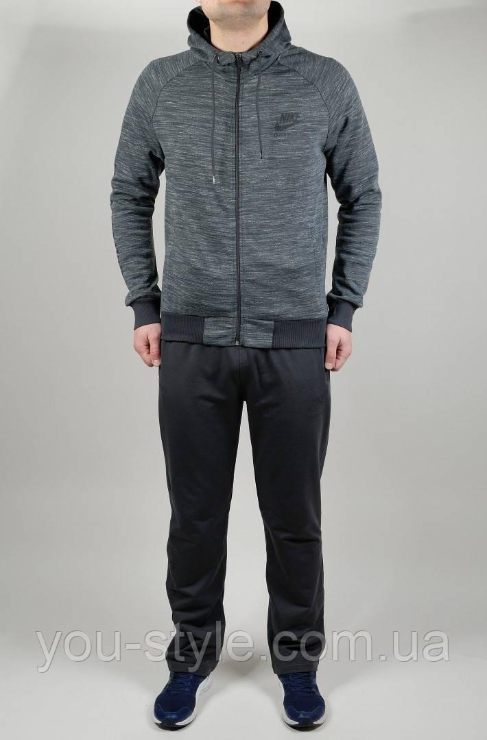Мужской спортивный костюм Nike 4590 Тёмно-серый