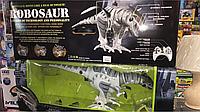 Игрушка детская robosaur, динозавр на управлении, размер 85см