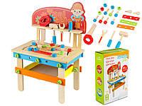 Деревянные детские инструменты 49 элементов