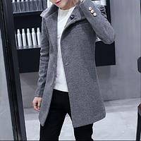 Мужское пальто. Модель 61541, фото 1