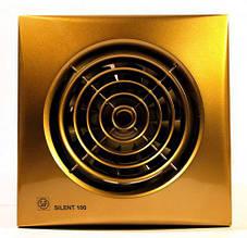 Вытяжной вентилятор Soler&Palau SILENT-100 CZ Gold
