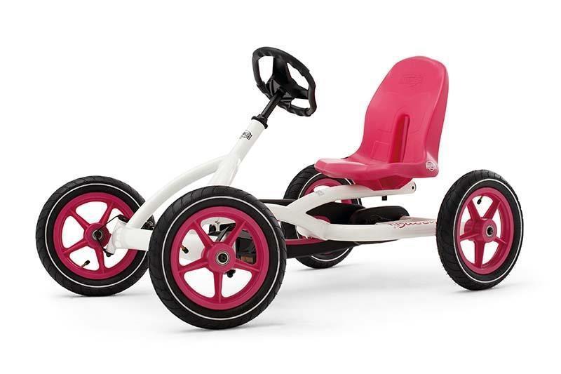 Велокарт Buddy White Berg 24206101. Веломобиль детский