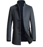 Мужское зимнее пальто. Модель 61696, фото 1