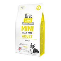 Brit Care GF Mini Adult Lamb Корм для взрослых собак малых пород с ягненком, 2 кг