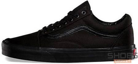 bd4f935683a7 Мужские кеды Vans Old Skool All Black купить в интернет-магазине ...