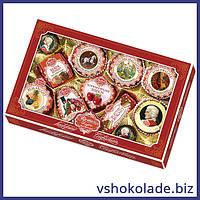 Ребер Моцарткугель - Марципановые конфеты ассорти Эксклюзив (новогодняя упаковка)